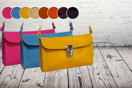 A SHU co uk - Stylish leather satchel or clutch bag  - Save 60%