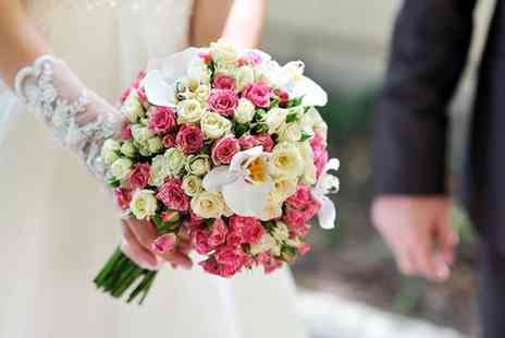 Moody Cows Florist - Two wedding flowers packages inclde bouquets or centrepieces - Save 60%