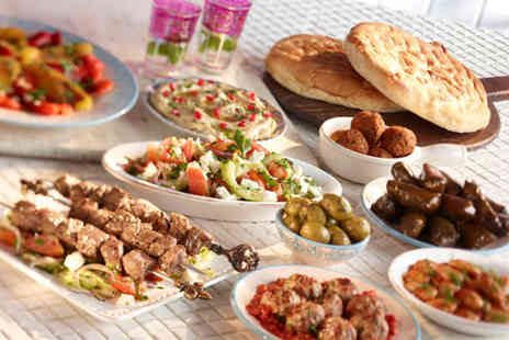 Palmyra Restaurant - Two course Lebanese meal for 2  - Save 62%