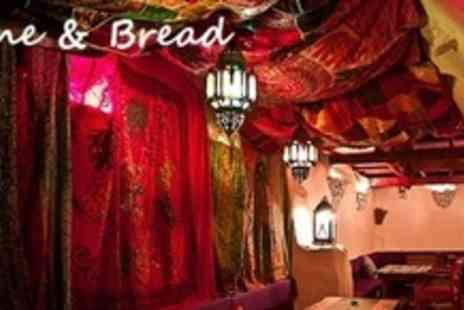 Wine & Bread - Three Course Portuguese Meal For Two With Drinks - Save 52%