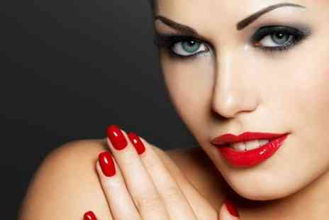 Glamor Hair and Beauty - Luxury Manicure With Shellac Or Acrylics - Save 60%
