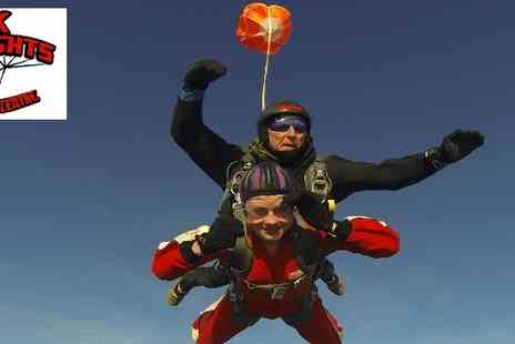 Black Knights Parachute Centre - Black Knights Parachute Centre on an exhilarating Tandem Skydive - Save 40%