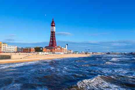 Sandford Promenade - Two Night Stay for Two People in Blackpool - Save 45%