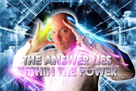 Joe Power - Ticket to Joe Powers psychic evening on 3rd June at Silvestrian Club, Liverpool - Save 50%