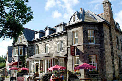 Glan Aber Hotel - One night for 2 people including breakfast & £10 dinner voucher - Save 54%