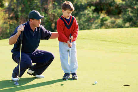 Glyn Abbey Golf Club - Two Rounds of 9 Hole Golf with Club Hire and a Tea or Coffee - Save 57%