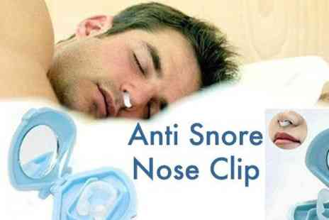 OneTouchTrade - 2pcs Anti Snoring Nose Clip - Save 51%