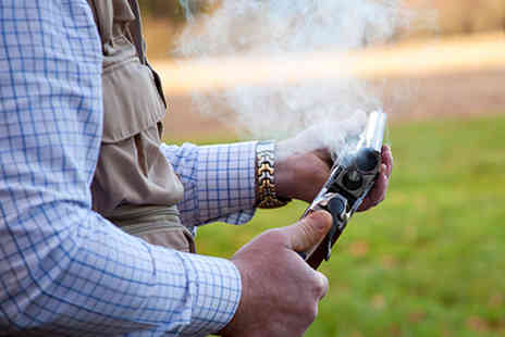 intotheblue - UK Wide Clay Shooting Experience - Save 34%