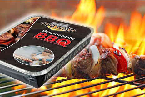 Something Great -  5 Disposable Charcoal Barbecues - Save 60%