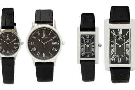 Jan Kauf - Choice of  His and Her Watches - Save 72%
