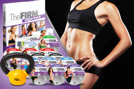 Home Shopping Mall - Firm Express 30 day home fitness programme DVD including a 5lb kettlebell - Save 67%