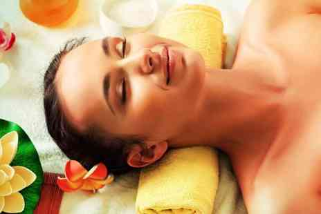 Prestige Lash Lounge - Contouring body wrap and express facial - Save 50%