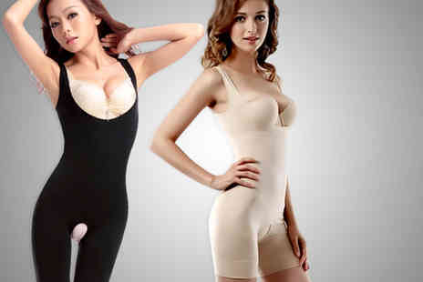 Les Joli  - Black or beige under bust bodyshaper - Save 64%