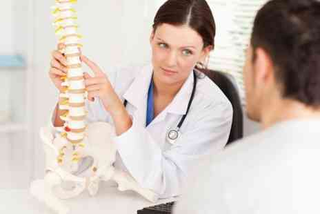 Glasgow Chiropractic - Chiropractic Consultation and Exam Plus Three Treatments - Save 75%