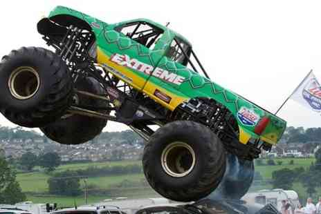 The Extreme Stunt Show - All day event featuring monster trucks, motorcycles and stunts - Save 47%