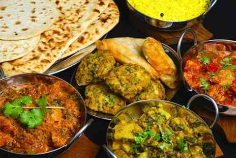 Shad Mannan Trading As India Cottage - Two Course Indian Meal With Sides For Two - Save 56%