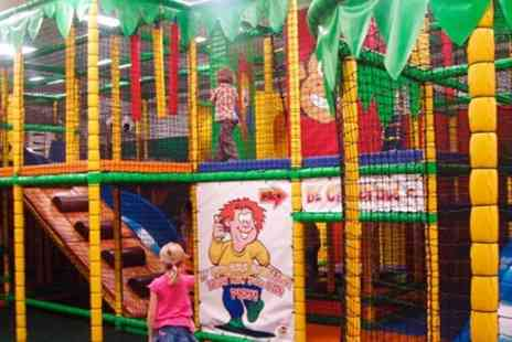 Jungletastic - Indoor Soft Play Entry Plus Drinks For Two Children - Save 0%