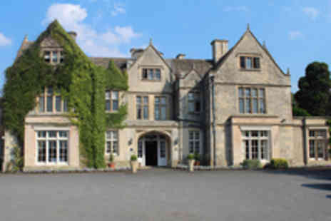 The Greenway Hotel & Spa - Luxury Cheltenham Manor House Break with Dinner and Spa Access - Save 37%