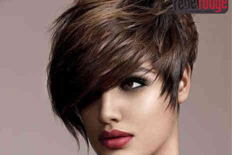 Rebel Rouge - Haircut, Blow Dry and Conditioning Treatment or Half Head of Highlights - Save 60%