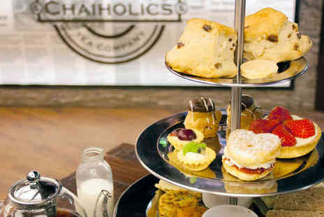 Chaiholics - Chai Afternoon Tea with Signature Chai Latte for Two - Save 50%