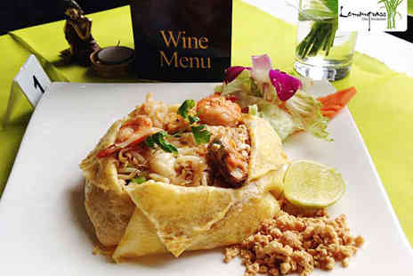 Lemongrass Thai Restaurant - Mixed Starter to Share with Main Course Each for Two - Save 53%