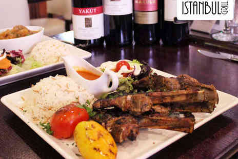Istanbul Grill - Olives and Meze Platter to Share with Main Each for Two - Save 56%