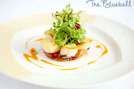The Bluebell Restaurant - Six Course Tasting Menu with a Glass of Prosecco Each for Two - Save 53%
