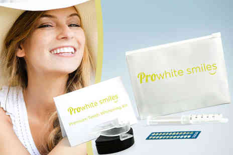 Pro White Smiles - At Home Teeth Whitening Kit - Save 87%