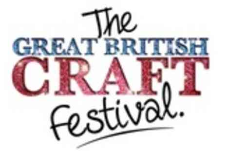 The Great British Craft Festival - Two tickets To the The Great British Craft Festival in Bolton - Save 64%