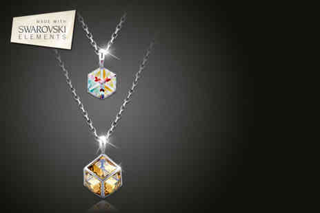 Sky Shopping World -  2 twin stars Swarovski Elements crystal necklaces - Save 72%