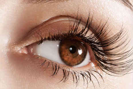 The Beauty Hut - Full Eyelash Extensions with Full Body Spray Tan - Save 73%