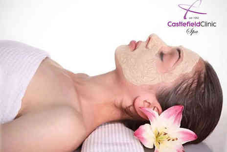Castlefield Clinic - One Diamond Peel Microdermabrasion T Zone Facial Treatments - Save 58%