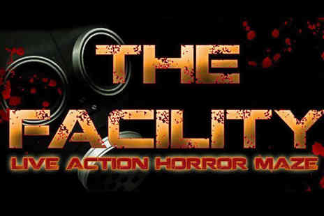 Twisted Attractions - Ticket to Live Horror Maze Interactive Experience - Save 53%