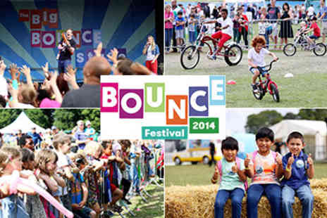 Bounce Festival - Family Festival, Bounce 2014 in Richmond Upon Thames on 16th and 17th August - Save 50%