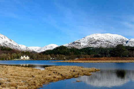 Glenfinnan House Hotel - One night Scottish highland stay for 2 including Prosecco & breakfast  - Save 38%