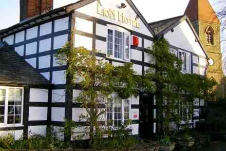 The Lion Hotel - One Night Stay For Two With Wine in Wales - Save 53%