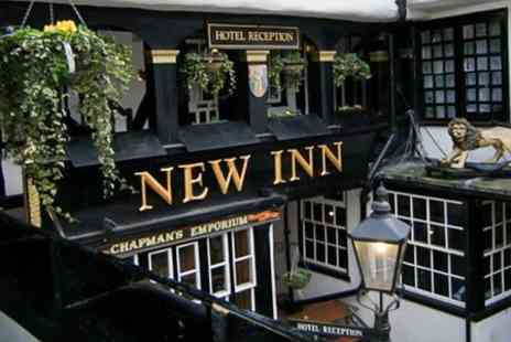 The New Inn - Two Course Meal For Two - Save 50%