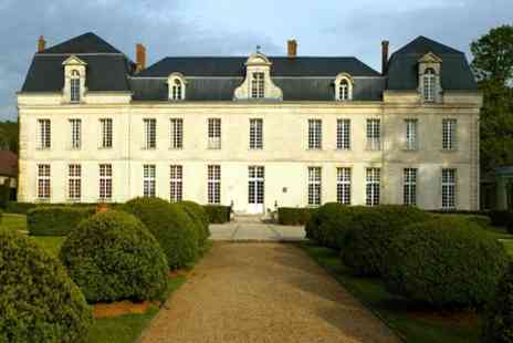 Le chateau de Courcelles -  One Night Stay For Two With Michelin Star Tasting Menu in  France - Save 50%