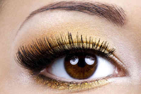 Millicents Hair and Beauty - Full Set of Eyelash Extensions and an Eyebrow Tint and Wax - Save 67%