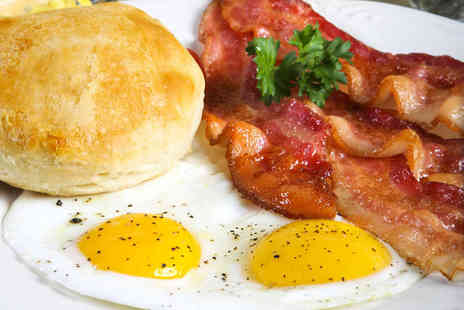 Cafe Generation - Breakfast Meal with Drink Each for Two People - Save 51%