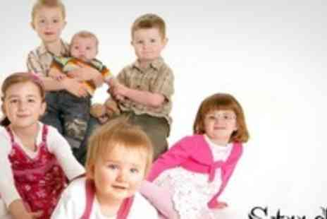 Studio Stratford - Family Photo Shoot With Three Prints - Save 94%