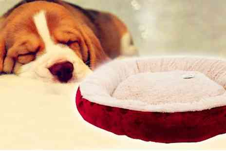 BW Group - Large round pet bed  - Save 38%