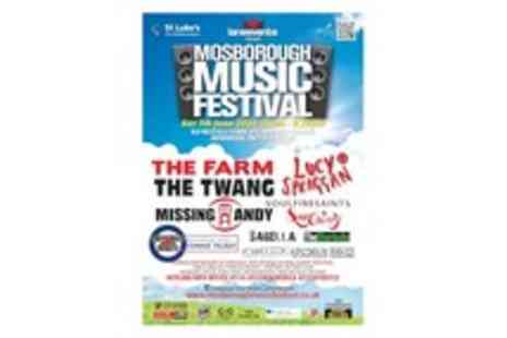 Mosborough Music Festival - One ticket to the Music Festival on Saturday 7th June in Sheffield - Save 29%