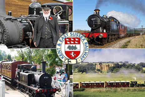 Kent & East Sussex Railway Company - A Great Family Day Out Travel through Beautiful Unspoilt Countryside - Save 50%