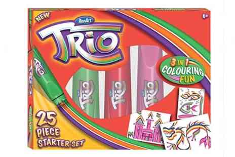 OneTouchTrade - Get creative with Trio Magic Starter Kit for - Save 48%