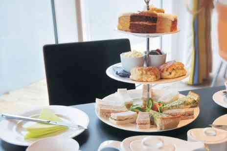 Cafe Infinity - Afternoon Tea With Sparkling Wine For Two  - Save 50%
