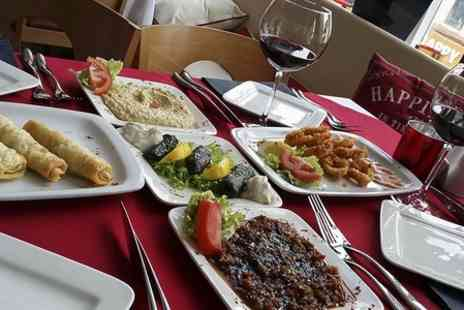 Turkuaz Bar & Grill - Turkish Meze Platter  With Wine - Save 46%