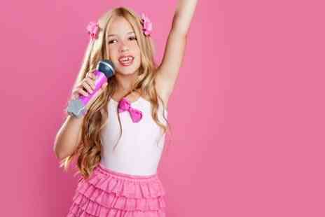 Splash Productions - Pop Star Themed Party With Photoshoot and Recording  - Save 50%