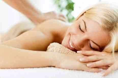 the beauty station - Cleansing and Exfoliating Back, Neck and Shoulder Massage - Save 67%