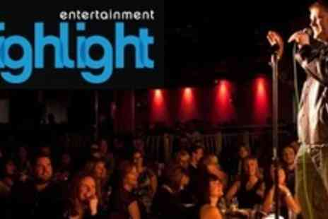 The Highlight - Entry To Comedy Night And After Show Party Plus Burger and Drink - Save 63%